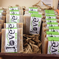 Hometown Bicycle Love Bar organic soap