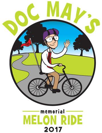 Doc May's Memorial Melon Ride 2017 logo