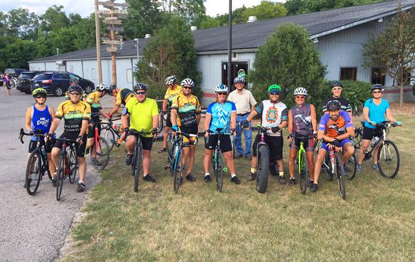 Hometown Bicycles Beginner Road Ride group ride