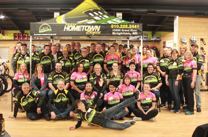 Team Hometown Bicycles 2018