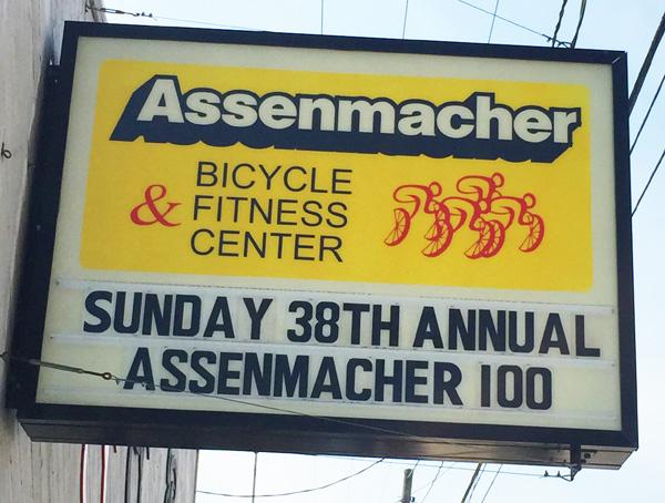 38th Annual Assenmacher 100