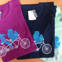 Michigan Tandem T-Shirts at Hometown Bicycles