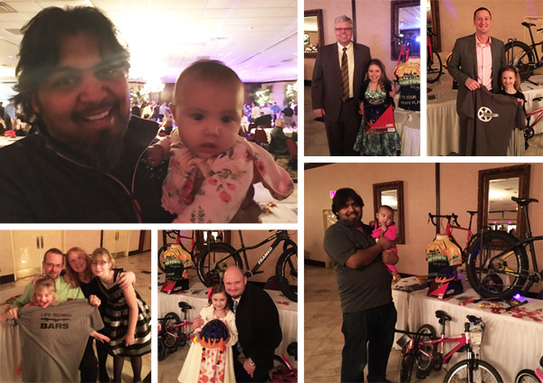 Hometown Bicycles, with Shaun Bhajan, sponsoring the Howell Parks and Rec Sweetheart Dances