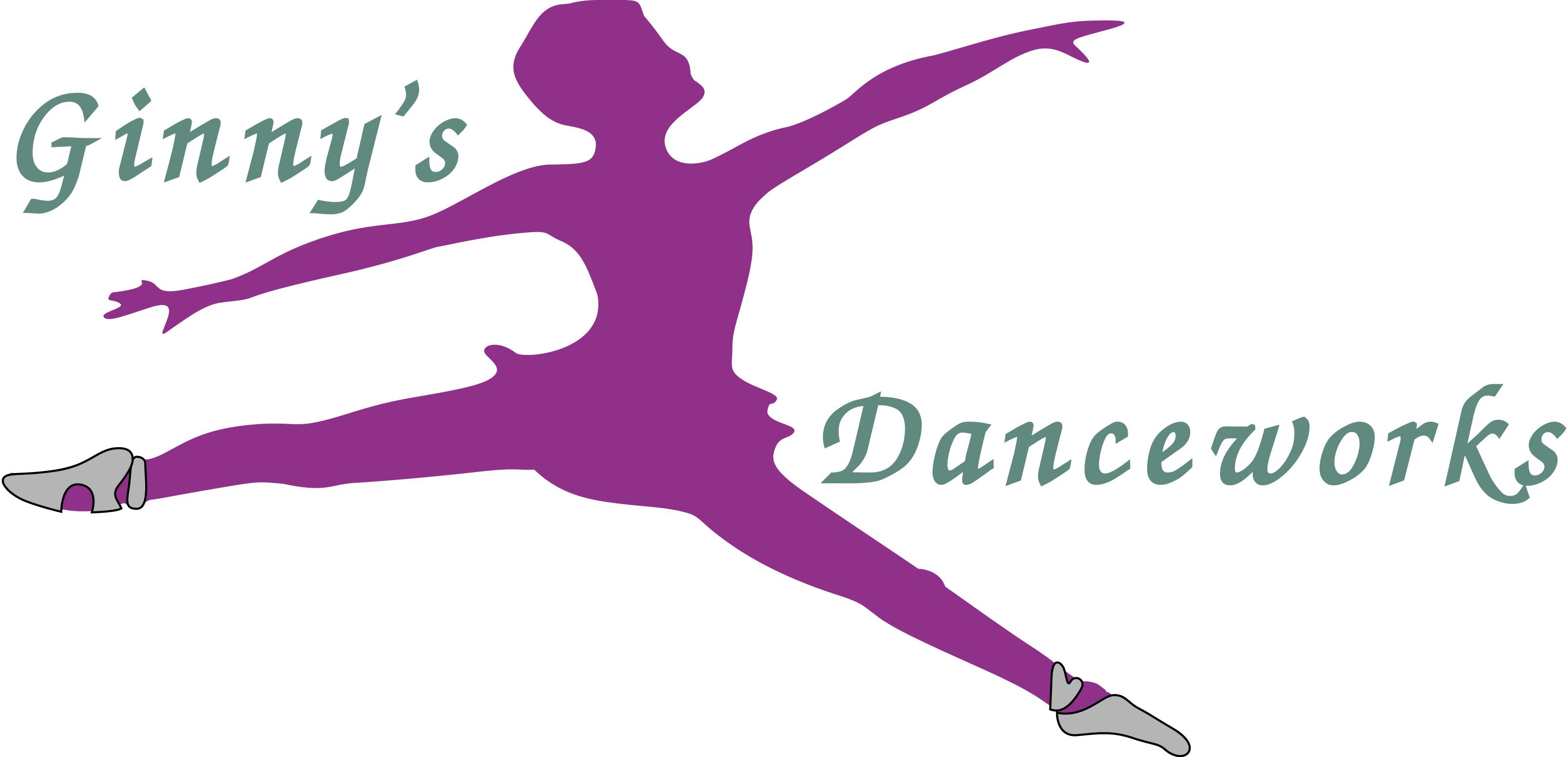 Ginny's Danceworks logo
