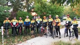 Team Hometown Bicycles at Tour de Livingston