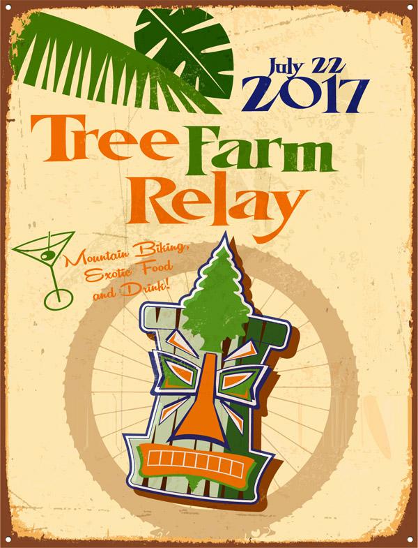 Tree Farm Relay 2017 poster