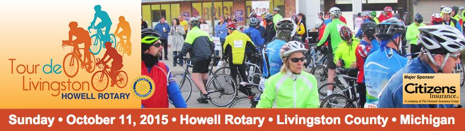 Tour de Livingston - Howell Rotary