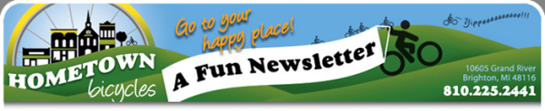 Hometown Bicycles: A Fun Newsletter
