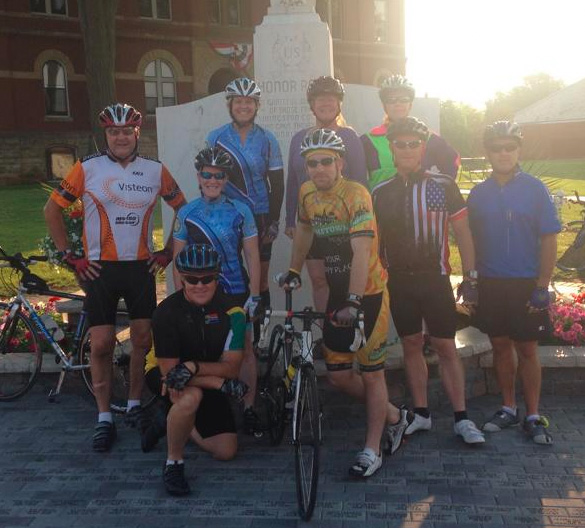 Hometown Bicycles Tour de Livingston Training Ride meets Sundays, 8am by the Howell Courthouse