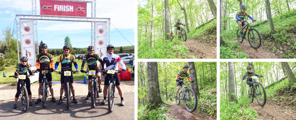 Team Hometown Bicycles at Arcadia Grit and Gravel Mountain Bike Race