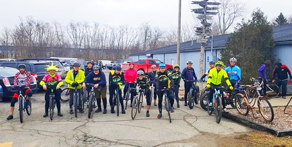 Hometown Bicycles Gravel Grinder 101 shop ride with CycloDan Tribble