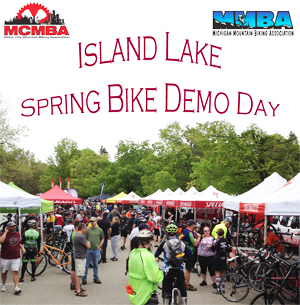 Island Lake Spring Bike Demo Day hosted by the MCMBA