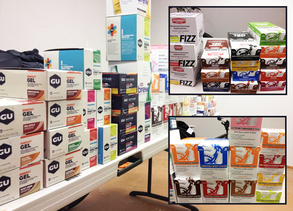 Gu, Fizz, Hammer, and more nutrition has arrived at Hometown Bicycles