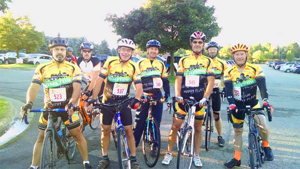 Team Hometown Bicycles road ride