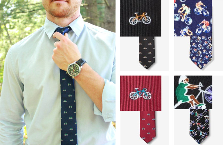 Bicycle neck ties offered at Hometown Bicycles