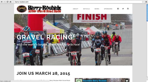 Barry-Roubaix website