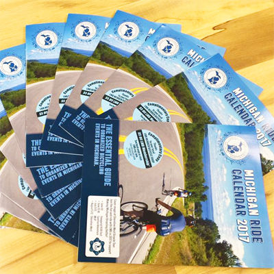 League of Michigan Bicyclists Michigan Ride Calendar 2017 at Hometown Bicycles