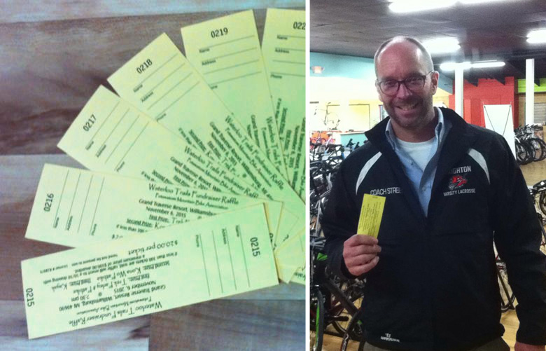 Waterloo Trail Great Fat Bike Raffle tickets