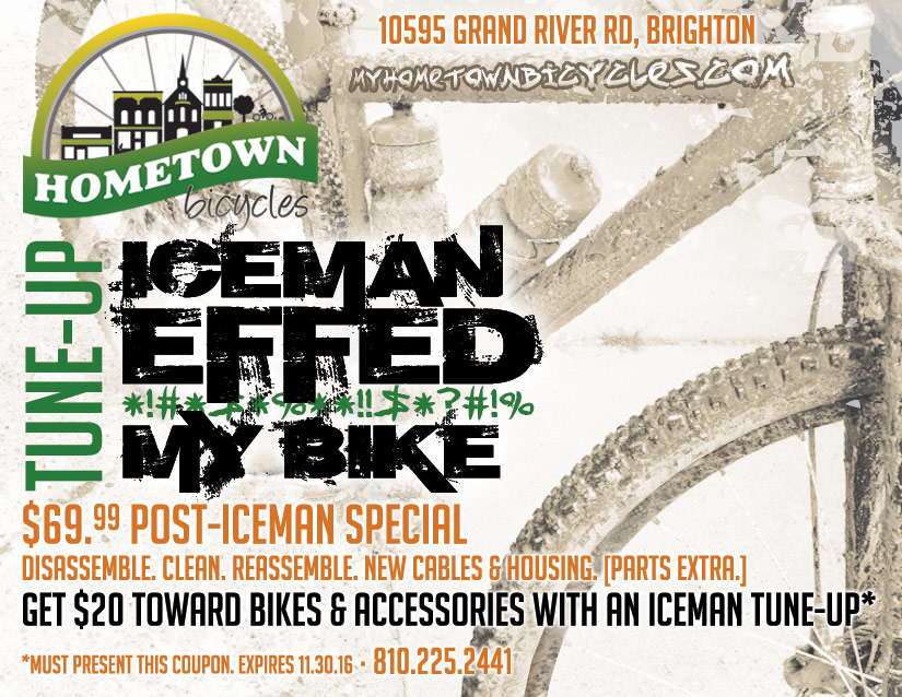 Hometown Bicycles Iceman Effed My Bike Tune-Up Coupon