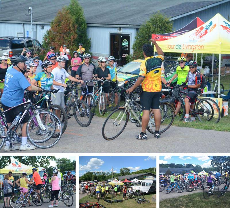 Tour de Livingston Party Ride with Shaun - controlled chaos