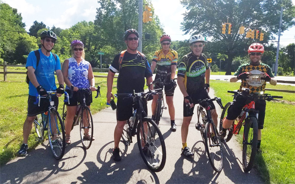 Hometown Bicycles shop ride