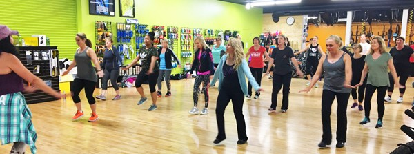 ZUMBA at Hometown Bicycles with Leslie Barrett