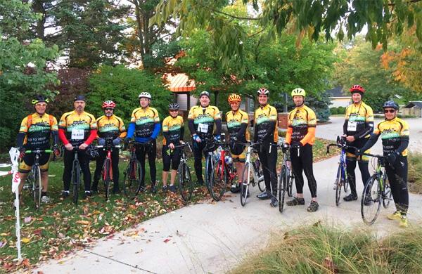 Team Hometown Bicycles at Tour de Livingston 2016