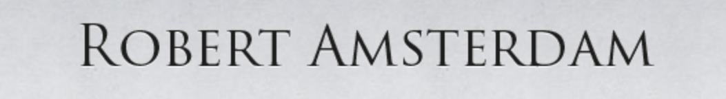 RobertAmsterdam.com
