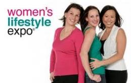 women's lifestyle expo logo