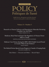 Healthcare Policy cover