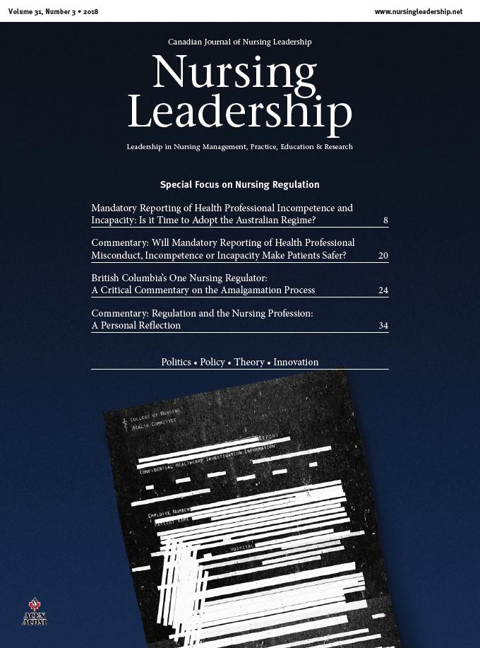 Nursing Leadership cover