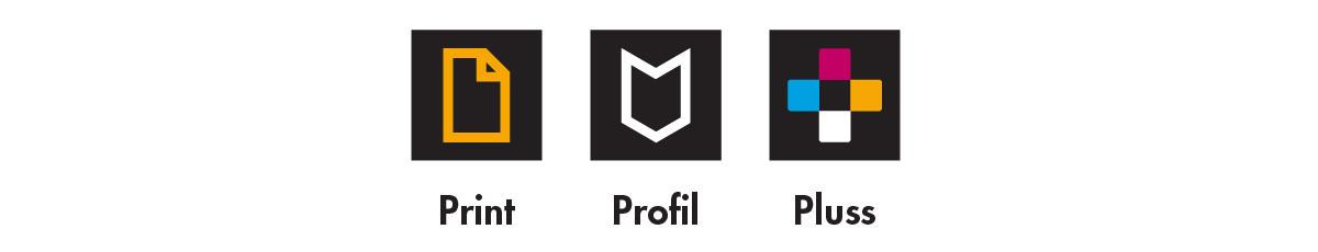Print | Profil | Pluss