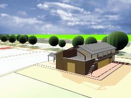 Situatieschets nieuwbouw SFT en WSH