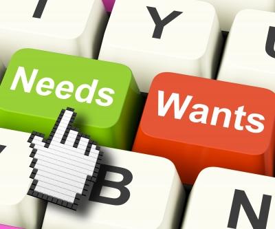 Needs wants image