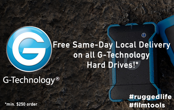 G-Technology Local Delivery!