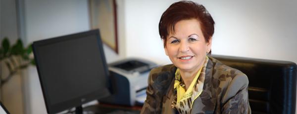 κα Φωτεινή Γιαννοπούλου, Διευθύνουσα Σύμβουλος OMONIA TRANS