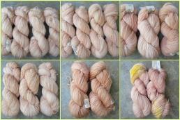 Spiral Effect Cowl in Classic Merino Superwash sock yarn