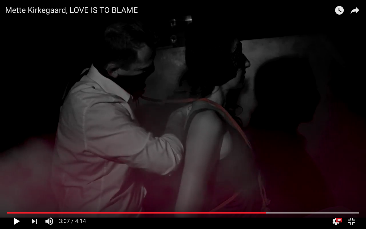 Mette Kirkegaard: LOVE IS TO BLAME