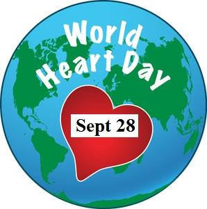 World Heart Day Sept 28