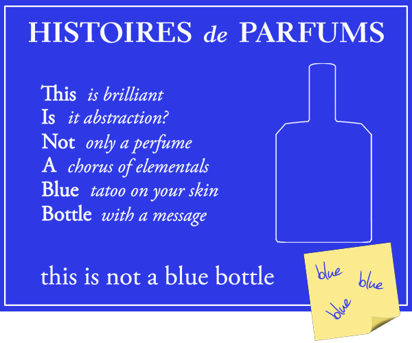 Something new Histoires de Parfums Blue bottle