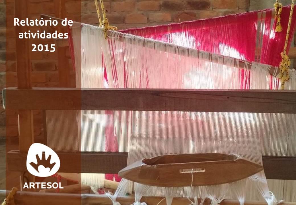 Relatório Anual ArteSol 2015