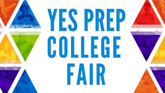 YES Prep College Fair flyer