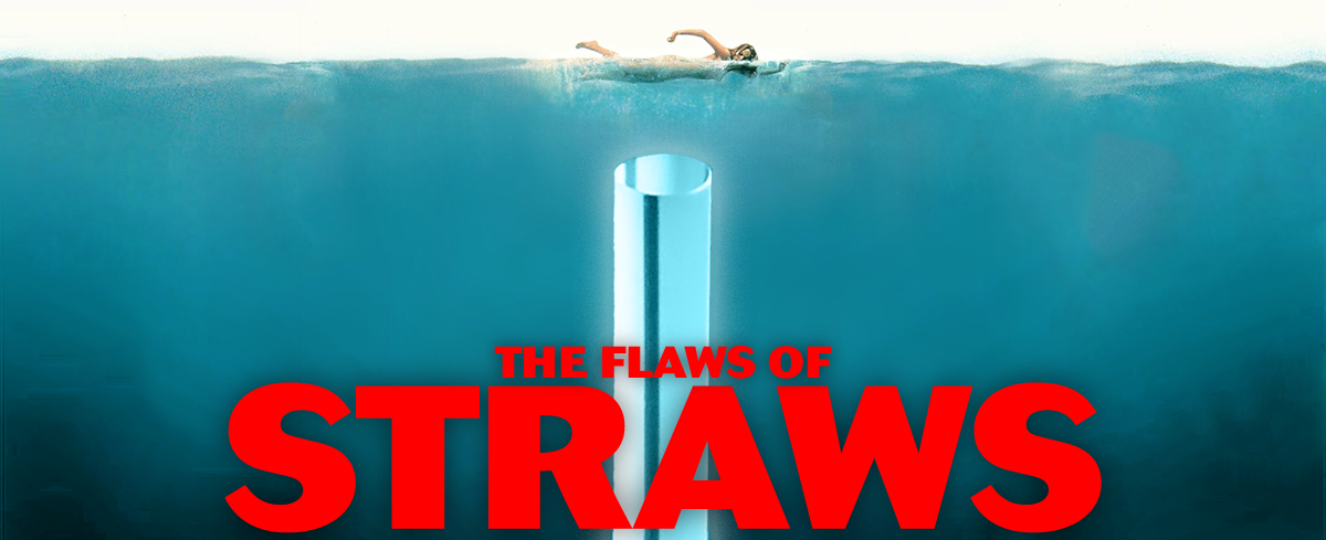 The flaws of straws, illustration