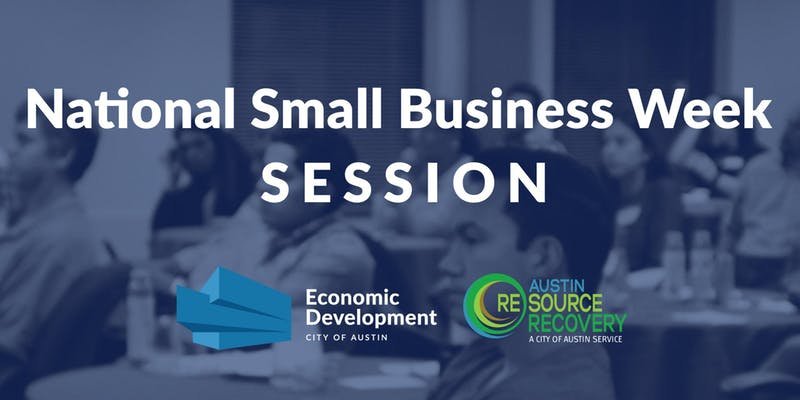National Small Business Week Session