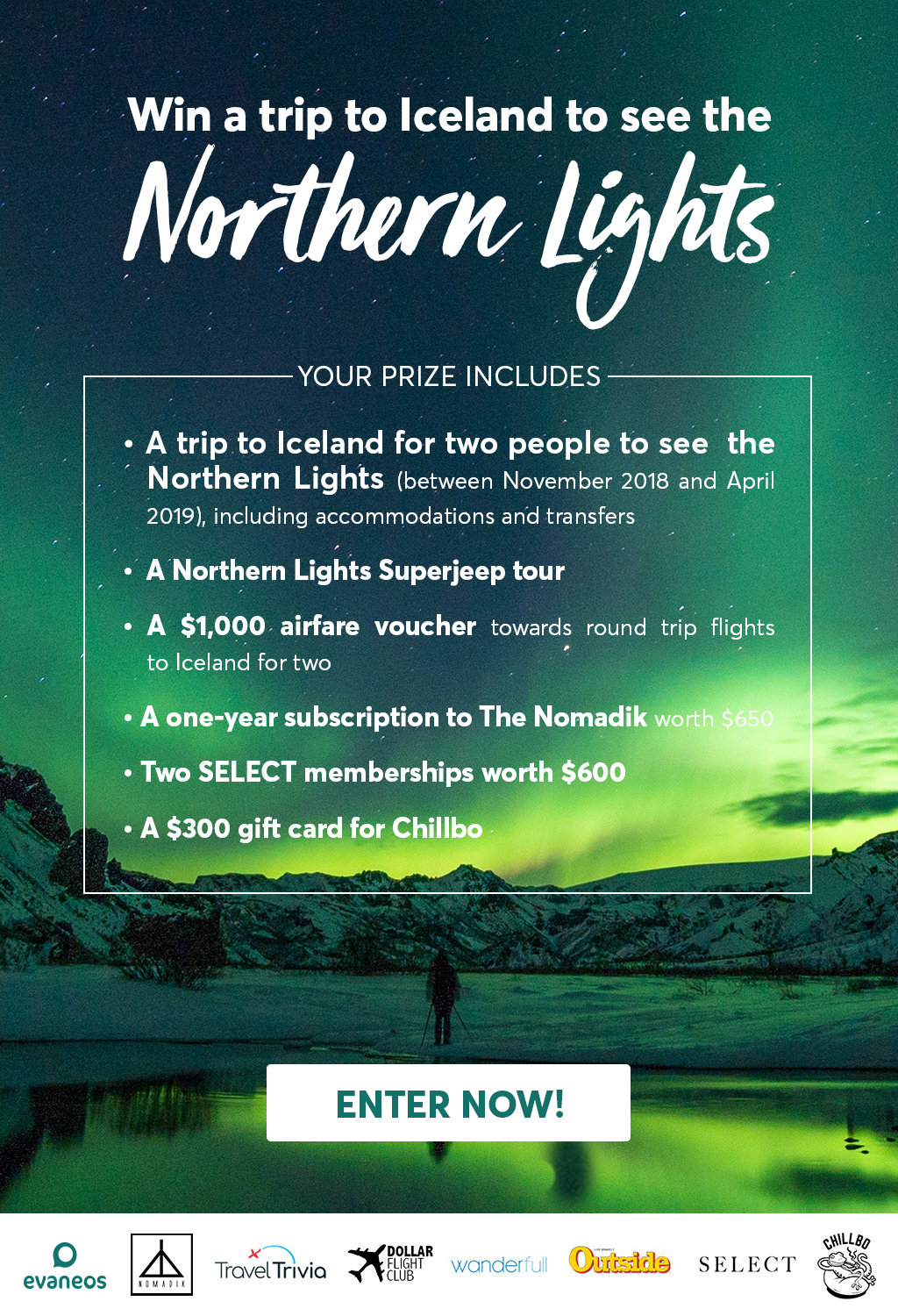 Go to Iceland to see the Northern Lights