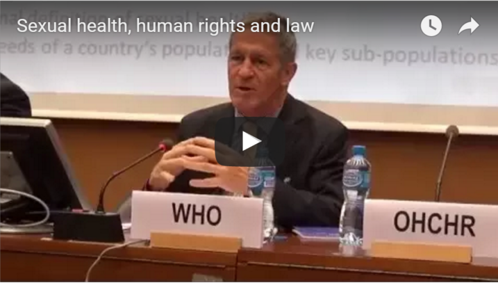 Sexual health, human rights and law