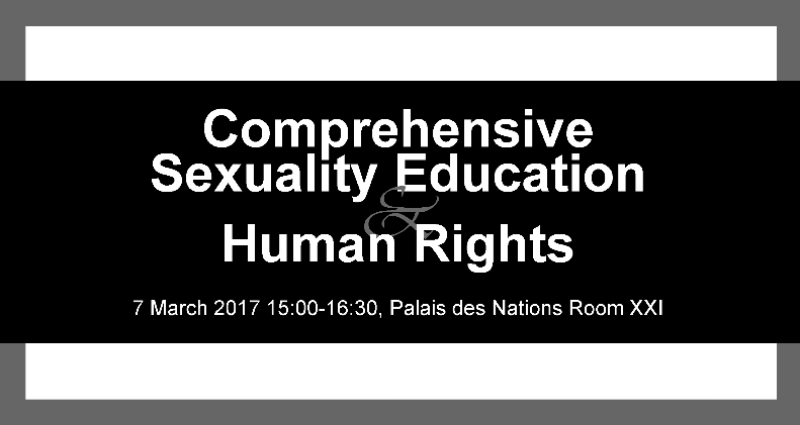 HRC33 Panel: Bodily Autonomy & Sexual Rights