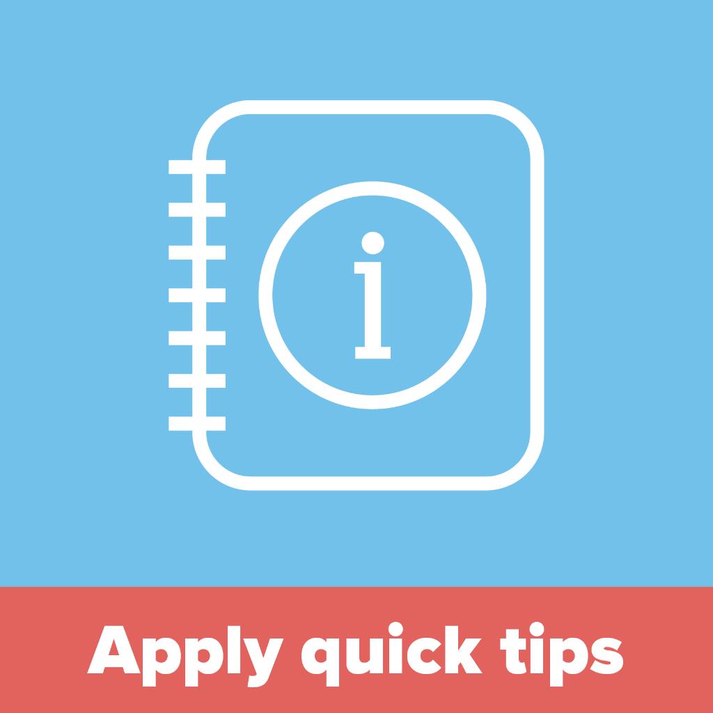 Quick tips handbook