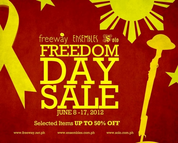 FREEDOM DAY SALE