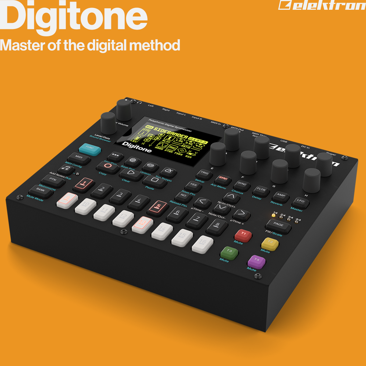 Digitone — Master of the digital method. Shipping now!